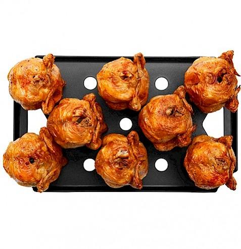 96 κοτόπουλα σούβλας σε 30 λεπτά